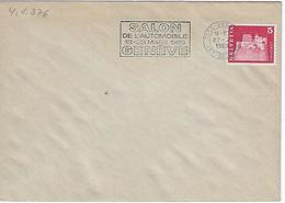 Switzerland 1969  GENEVE  27.2.69  Mi.878 - Postmark Collection