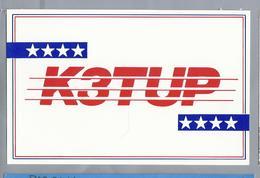 US.- QSL KAART. CARD. K3TUP. JOHN KANZIUS, GIRARD, PENNSYLVANIA. U.S.A.. ARRL. - Radio-amateur