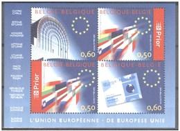 Blok 110** EUROPESE UNIE Met Zegels 3256/59** L'union European MNH - Blocks & Sheetlets 1962-....