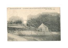 Souvenir De Bouillon.  -  Le Château, Les Deux Ponts-Levis Et Un Ancien Bastion (1912). - Bouillon