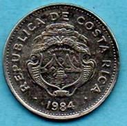 R13/ COSTA RICA  1 Colon 1984 - Costa Rica