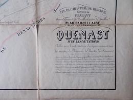 QUENAST  PLAN DE + OU - 1900 - Europe