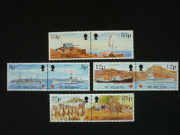 Saint Helena, 1995 End Of World War II, 50th Anniv. Scott #646-653 Pairs MNH Cv. 19,75$ - Isola Di Sant'Elena