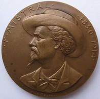Médaille Frederic Mistral 1830 – 1914. Conseil General Des Bouches Du Rhône Par Anie Mouroux - Otros