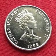 Cayman Islands 25 Cents 1996 KM# 90a  Iles Caymans Caimão - Kaimaninseln
