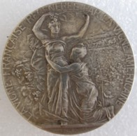 Médaille En Argent  LA VIGNE FRANCAISE REGENEREE PAR LA VIGNE AMERICAINE - Hérault Par Alphonse RIVET - Autres