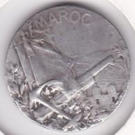 Médaille En Argent MAROC HONNEUR ET PATRIE CASABLANCA HAUT GUIROUDJA, Par Georges LEMAIRE - Autres