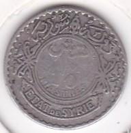 ETAT DE SYRIE. 10 PIASTRES 1929. ARGENT - Syria