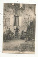 Cp , Militaria , Guerre De 1914-1918, Distraction Sur Le Front , Musique , Musiciens , Accordeon ,voyagée 1915 - Guerra 1914-18
