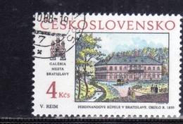 CZECHOSLOVAKIA CESKOSLOVENSKO CECOSLOVACCHIA 1988 PRAGA 88 PRAHA PRAGUE BRATISLAVA VIEWS USED - Cecoslovacchia