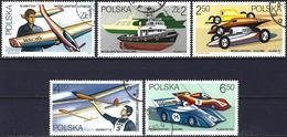 Poland 1981 - Mi 2757/61 - YT 2573/77 ( Models ) - 1944-.... République