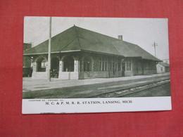 Station  Lansing  Michigan     Ref 3540 - Lansing