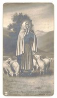 PHOTO LOURDES Ô SAINTE BERNADETTE SOUBIROUS VOYANTE IMAGE PIEUSE RELIGIEUSE HOLY CARD SANTINI PRENTJE HEILIG - Imágenes Religiosas