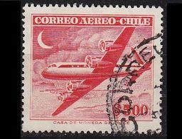 CHILE [1955] MiNr 0503 ( O/used ) Flugzeuge - Chile