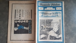 Vlaamsche Filmkens Nr 343 Konjito En De Jos 1937 GROOT FORMAAT: 16x23,5cm ( Averbode's Jeugdbibliotheek ) KWATTA - Anciens