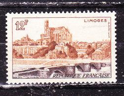 Francia 1954 Limoges Nuovo MNH** - Francia