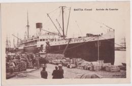 Bv - Cpa BASTIA - Arrivée Du Courrier - Bastia