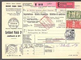 Fr 13,80 1956 CORTEBERT > Maison Martin Geyer Horlogerie Watches (636) - Schweiz