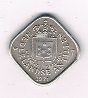 5 CENT 1971 NEDERLANDSE ANTILLEN /6096/ - Antilles Neérlandaises
