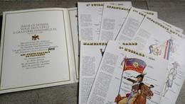 Objet Publicitaire Lessive Persil , Les Porte-drapeau De Napoléon Fin 1960 6 Images Rare Bonaparte Militaire - Histoire