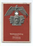 AK Col REICHSPARTEITAG Nürnberg  13.09.1935 - Weltkrieg 1939-45