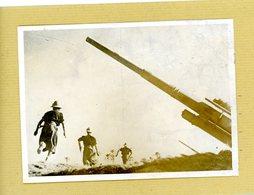 GUERRE  39/45  Attaque De L'infanterie Italienne Sur Le Front  CYRENAIQUE - Guerre, Militaire
