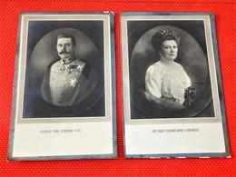 Archiduc D'Autriche François Ferdinand Et Son épouse Sophie Von Hohenberg - Erzherzog Franz Ferdinand D'Este - Familles Royales