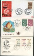 1966 Europa C.E.P.T., Annata Completa F.D.C. Non Viaggiate - Europa-CEPT