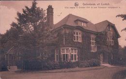 Gedenkenis Uit Contich Villa Waarop In October 1914 De Stad Antwerpen Overgegeven Is - Kontich
