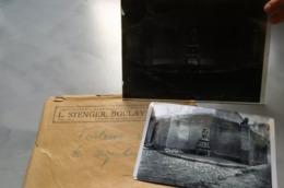 Boulay Bolchen Ancienne Plaque De Verre Photographique De LOUIS STENGER Fontaine Des Arquebusiers Année 190X - Boulay Moselle