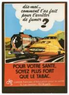 TGV Postal - Campagne Anti-tabac 1987 - Trains