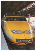 TGV Postal - Motrice En Gare De Lyon Montrochet  Septembre1984 - Trains