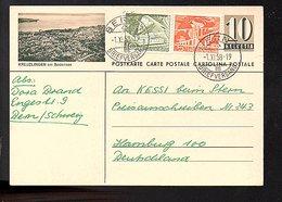 KREUZLIINGEN Am Bodensee Bern > Hamburg (642) - Ganzsachen