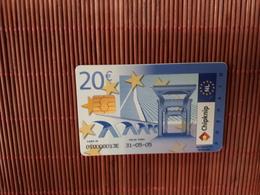 Phonecard Chipknip 20 Euro Used Rare - Openbaar