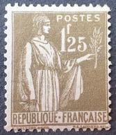DF40266/603 - 1932 - TYPE PAIX - N°287 NEUF** - Cote : 215,00 € - Nuovi
