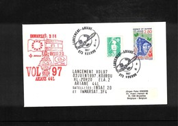 France / Frankreich  1997 Kourou Space / Raumfahrt  Launching Of Ariane Interesting Cover - Briefe U. Dokumente