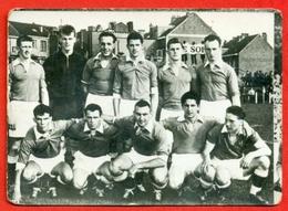 Uccle Sport - 1957-1958 - Afdeling II - Fotochromo 7 X 5 Cm - Football