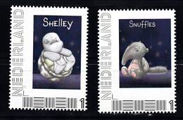 Nederland Persoonlijke Zegel: Schildpad, Turtle, Shelley + Olifant, Elephant, Snuffles - Periode 2013-... (Willem-Alexander)