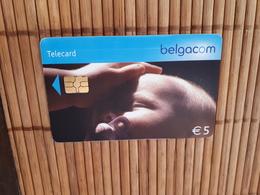 Phonecard Child Belgium Used - Avec Puce