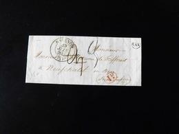 LETTRE DE BARENTIN POUR NEUFCHATEL EN BRAY  -  1842  - - 1801-1848: Voorlopers XIX