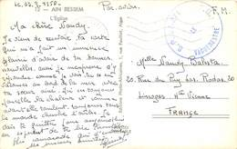 PIE.T.19-9174 : AIN BESSEM..  FRANCHISE MILITAIRE 23 SEPTEMBRE 1956.  S. P. 87 271. - Marcophilie (Lettres)