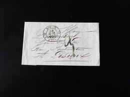 LETTRE DE ROUEN POUR LISIEUX  -  1840  - - 1801-1848: Précurseurs XIX