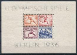 Olympische Spelen  1936 , Duitsche Reich  - Blok Postfris - Summer 1936: Berlin