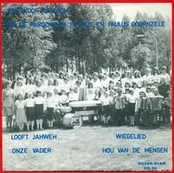 Doornzele (Evergem): Jeugdkoor Sjaloom - 1) Looft Jaweh 2) Onze Vader - 1) Wiegelied 2) Hou Van Mensen - Vinyles