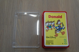 Speelkaarten - Kwartet, Donald, Nr 71400, Schmid , *** - - Cartes à Jouer Classiques