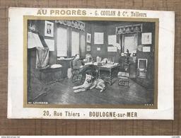 Au Progrès Boulogne Sur Mer - Chromos