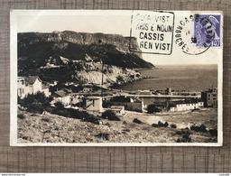 CASSIS SUR MER Vue Panoramique Vers Le Cap Canaille - Cassis