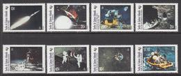 1995 Turks & Caicos Moonlanding Space Complete Set Of 8 MNH - Turks & Caicos