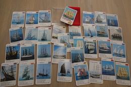 Speelkaarten - Kwartet, Grote Zeilschepen - Grand Voiliers, Quartett 801 6738, Berliner Spielkarten, *** - - Cartes à Jouer Classiques