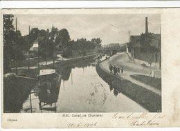 HALLE-HAL -CANAL DE CHARLEROI - Halle